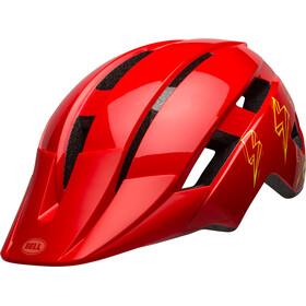 Bell Sidetrack II MIPS Helm Kinder rot